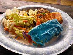 Cake, cookies, and salad (Morton Fox) Tags: 15fav food picnic geocaching centralpark pa doylestown geocachingevent gc49qfr