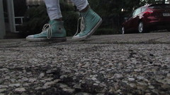 converse swag hahah (sophieputrim) Tags: green photography high shoes photoshoot angle top lol mint converse swag