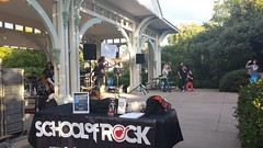 School of Rock Performs (Unionville BIA) Tags: street school music ontario canada rock kids live main performance millennium bandstand markham unionville