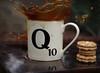 Q (going_nowhere) Tags: film coffee cookie q skyfall qmug scrabblemug coffeesplash