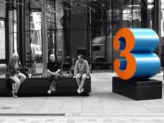 The Magic Number (Douguerreotype) Tags: street uk people 3 men london lumix three panasonic number compact colourpop