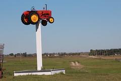 Alberta Barn hunt (davebloggs007) Tags: tractor pole