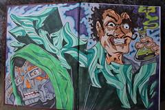cram (total annihilation) Tags: color art graffiti sketch style marker draw blend blackbook
