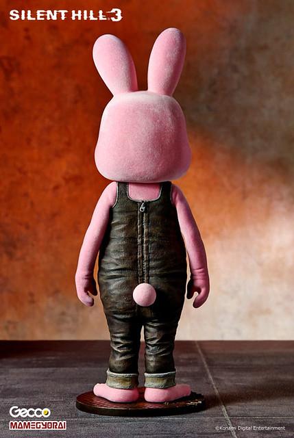 「あみあみ限定附贈!」Silent Hill的吉祥物撲殺兔(粉紅版)!