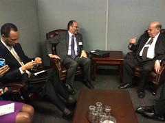 Secretary General Meets with CARICOM Secretary General (OEA - OAS) Tags: un onu array oas oea organizationofamericanstates organizacióndelosestadosamericanos