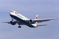 G-BZHA BA Boeing 767-300 landing at Heathrow (Simon.Davison.Photography) Tags: plane airport heathrow aircraft flight landing passenger ba boeing britishairways runway 767 heathrowairport boeing767 767300 boeing767300 gbzha