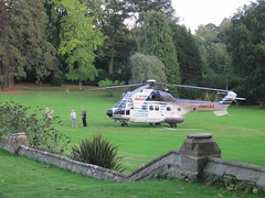 Taking photos of the visitor IMG_1441 (tomylees) Tags: garden hotel october gloucestershire tuesday puma eurocopter tortworth 2013 uploaded:by=flickrmobile flickriosapp:filter=nofilter