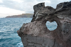 At Nakalele Blowhole (brittany_millan) Tags: island hawaii paradise heart maui nakaleleblowhole heartcutoutofrock