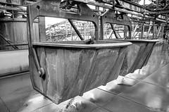 Erz- und Kokstransportbehälter (-BigM-) Tags: industry photography iron raw fotografie steel hütte unesco furnace heavy industrie blast saarland weltkulturerbe stahl eisen roh hochofen völklingen bigm völklinger schwerindustrie