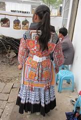 Showing me the back (MFinChina) Tags: china costume embroidery sewing traditional guizhou miao hmong batik liuzhi