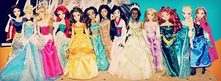 Disney Princess Line Up!