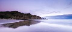 Raeakiaki Point (Nick Twyford) Tags: longexposure sunset newzealand seascape nikon wideangle auckland nz northisland westcoast bethellsbeach tehenga coastallandscape colourimage leefilters 1024mm d7000 lee09nd lee06gndsoft