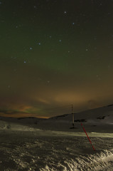 Spot the Plough (Matt Wilde) Tags: norway norge pentax sigma 1020mm northernlights auroraborealis k5 nordlys beiarn