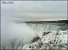 Let the Falls fall. (Shayan.soh) Tags: usa mist snow canada ice nature water weather waterfall freezing niagara niagarafallsstatepark flickrandroidapp:filter=none