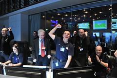 Signal received from Rosetta (europeanspaceagency) Tags: rosetta missioncontrol esoc wakeuprosetta