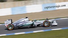 Mercedes W04 - Lewis Hamilton - Barrido panorámico - Entrenamientos F1 Jerez 2013 (www.capturaviaje.com) Tags: españa david canon mercedes f1 andalucia deporte fone cádiz formula1 franco jerez w04 circuito grimaldi 70300 barrido automovilismo 550d paneo lewishamilton espaã±a cã¡diz dgrimaldi wwwcapturaviajecom capturaviaje