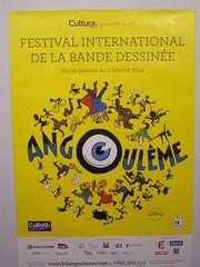ANGOULEME 41 (marsupilami92) Tags: frankreich fibd france sudouest poitoucharentes 16 festival charente bd affiche jaune angoulême bandedessinée