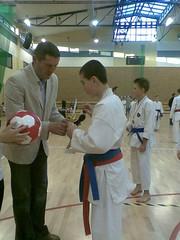 IX Turniej Karate w Bolszewie 14.12.2008