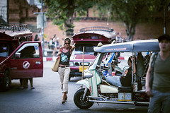 The street of Chiang Mai (HIKARU Pan) Tags: street travel horizontal thailand photography asia tour streetphotography chiangmai tutu 135l thai1 canonef135mmf2lusm 1dx thaphaegate eos1dx