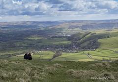 Castleton Couple (chrispenfold) Tags: park cross district derbyshire peak national tor mam edale castleton hollins