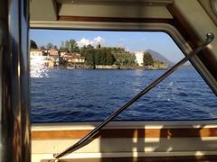 Isola Bella a bordo del motoscafo