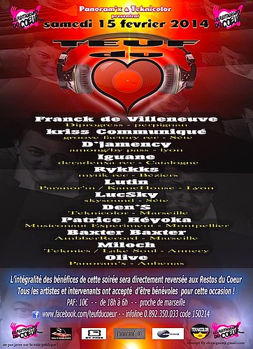 "Flyer 15/02/2014 @ Teuf du Coeur <a style=""margin-left:10px; font-size:0.8em;"" href=""http://www.flickr.com/photos/110110699@N03/13887228836/"" target=""_blank"">@flickr</a>"