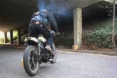 1977 Yamaha XS750 (Stefano Mironov) Tags: fire cafe motorcycle yamaha 1977 racer stefano xs750 mironov miroteknik