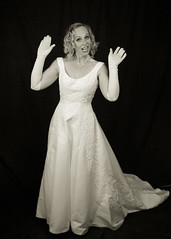 white gloves (chinese johnny) Tags: leica portrait blackandwhite monochrome portraits studio glamour hollywood glam m9 leicam9