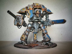 44381e5a7a4a4850f9e09aa04c507084 (Those) Tags: space 40k imperial warhammer knight wolves