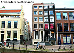 Oudezijds Achterburgwal 1012 Amsterdam Netherlands (Vieparamsberlon.) Tags: street old city travel red holland building classic tourism window netherlands dutch amsterdam bicycle architecture store model europa europe european dress euro landmark tourist womens promenade architektur metropolitain melancholy paysbas modell btiment fahrrad vlo vieux amstel 1012 niederlande straat brothels hollande altbau modle europen stil towne oudezijds achterburgwal  bordelle strase mtropolitain europisch  europeisk bordels hollndska