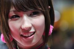 IMG_4216 (truefaithkizaki) Tags: auto tokyo salon tas companion campaigngirl tokyoautosalon  tokyoautosalon2015