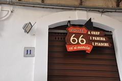 Route 66, Via Silvio Pellico 11, Modica (Paul and Jill) Tags: italy route66 sicily modica viasilviopellico