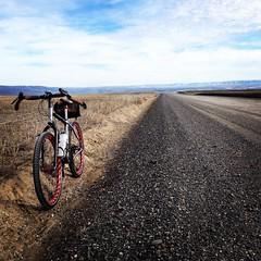 Sunday Sun Ride (Doug Goodenough) Tags: bicycle bike cycle ride pedals spokes salsa fargo ti gravel sun winter 2015 15 january drg53115 drg53115p drg531