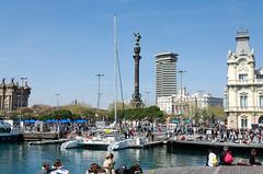 Columbus Monument, Barcelona (aleksei_jershov) Tags: barcelona columbus spain nikon nikkor 18105 80 d5100