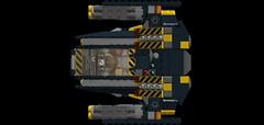 battlemech ocelote top (wray20641) Tags: toy toys lego vehicle mechwarrior mech moc battlemech