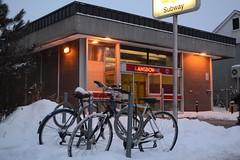 Lansdowne subway station (hogtown_blues) Tags: winter snow toronto ontario canada ttc bloorlansdowne