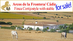 Finca mit Pferdestall, Reitimmobilie, zu verkaufen, Arcos de la Frontera, Cadiz, country house with horsestable for sale (SPANIEN-Reit-Immobilien-Fincas-Villen-Haciendas) Tags: en horse house de caballos for se la casa looking mit sale country property andalucia cadiz buy campo andalusia andalusien frontera venta verkaufen vende zu arcos kaufen finca landhaus suche cuadras rustica pferdestall reitimmobilie