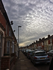 Evening Sky (Jainbow) Tags: sky clouds portsmouth southsea street houses terraced jainbow