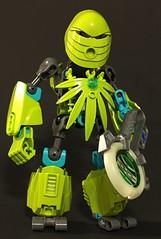 Front (Maqdaddio) Tags: cute robot lego trans bionicle mecha moc tamaru bzpower
