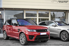 Land Rover Range Rover Sport SVR (Alexandre Prvot) Tags: auto france cars car sport automobile european parking transport automotive voiture route exotic nancy lorraine 54 supercar luxe berline exotics supercars ges 54000 dplacement meurtheetmoselle worldcars grandestsupercars