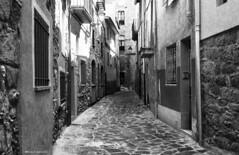 2090  Una calle de Gironella, Barcelona (Ricard Gabarrs) Tags: street calle pueblo ciudad olympus villa rue carrer gironella ricgaba ricardgabarrus