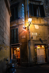 Pisa Dinner 2 (chriswalts) Tags: travel sunset italy streets tower night pisa leaning