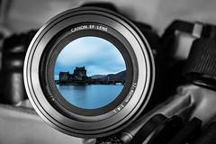 flash back (allport.colin) Tags: camera canon eilean donan castle composite