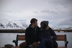 Me and Jo (JimLeach89) Tags: travel holiday snow nature digital rural landscape outside outdoors countryside iceland nikon scenery exterior view natural dslr d40 nikond40 d40x d40d40x