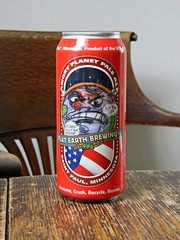 Angry Planet Pale Ale (knightbefore_99) Tags: usa beer minnesota cerveza ale stpaul craft tasty can pale organic hops pivo malt flatearth angryplanet