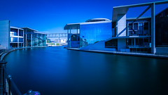 Paul Lbe Haus (jochenlorenz_photografic) Tags: blue berlin germany memories sightseeing explore capture longtimeexposure citytrip visitgermany visitberlin couplethings nikond7100 fujixt10 fotografiereninberlin