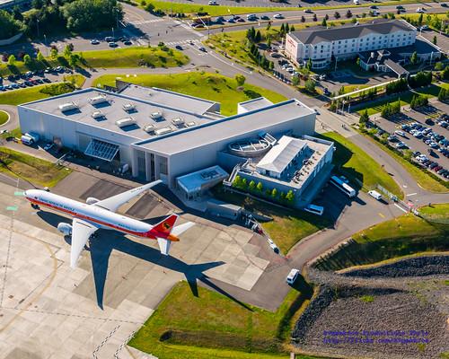 Future Of Flight U0026 Hilton Garden Inn Seattle North From The Air