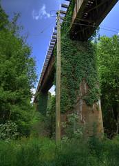 Railroad Bridge (djh644) Tags: railroad bridge sony hdr photomatix hx90v