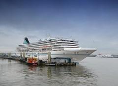 Artania in Liverpool (Jeffpmcdonald) Tags: phoenix reisen mvartania phoenixreisen cruiseship liverpool liverpoolcruiselinerterminal rivermersey nikond7000 jeffpmcdonald june2016