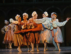 Tyrone Singleton, with company dancers (DanceTabs) Tags: ballet dance shakespeare brb hippodrome birminghamroyalballet
